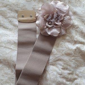 Accessories - Light Purple Women's Belt with Flower